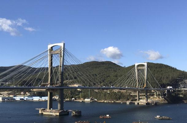 Izado De Cabeceros Del Viaducto De Rande